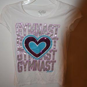 Gymnast Heart Tee- Shirt | Kids' Clothing | Girls